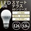 【条件付き送料無料】『トライテラス スマートテラス 60シリーズ 40W相当【あす楽対応】』LED電球 一般電球 LED照明 おしゃれ 消費電力 LED  ライト
