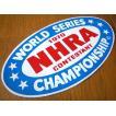 レーシングステッカー(NHRA 1970 WORLD SERIES) アメリカ雑貨 アメリカン雑貨