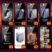 進撃の巨人 風 自由の翼 iphone6 6s iphone6P 6Splus iphone7 plus iphone8 8plus  X携帯ケース ケースカバー 撮影 写真 韓流グッズ 送料無料