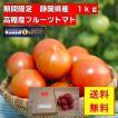 産地直送 フルーツトマト 静岡県産   送料無料(北海道・沖縄・離島等除く)  「サンクスフルーツトマト」 1kg