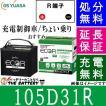 105D31R ジーエス・ユアサ ECO.R(エコ.アール)シリーズ GS/YUASA国産バッテリー