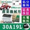 30A19L  ジーエス・ユアサ GYN 豊年満作 シリーズ GS/YUASAバッテリー