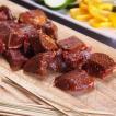 ポイント消化 竹串付き味付けビーフキューブ 150g グラスフェッドビーフ 無添加 ケバブ 牛肉串