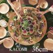 ウッドプレート 36cm 皿 大皿 食器 器 木製 秋田杉 木 軽い おしゃれ キャンプ ピザ おすすめ 国産 日本製 KACOMI 佐藤木材容器