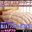 掛け布団 セミダブル シンサレート 洗える抗菌防臭