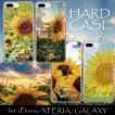 iPhone11 Pro Max X XSMax XR ハードケース カバー ケース Xperia XZ galaxyS9 ヒマワリ ひまわり 向日葵