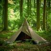 10月上旬 数量限定 入荷予定!! 受注生産商品 Tschum チャン 2P SOSWA tent nut brown ソスワ 2P ナッツブラウン ティピー テント