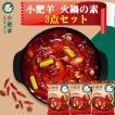 お得3袋セット送料無料大人気中国名物 小肥羊鍋の素 辣湯辛味中華調味料 中華物産本場の味 火鍋底料235g