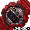カシオ/CASIO/G-SHOCK/Gショック/海外品/クオーツ/デジタル表示/ストップウォッチ/カモフラージュ/迷彩柄/メンズ腕時計/GD-120CM-4