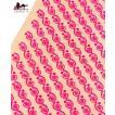 切り売り 量り売り布 アジア布 〔1m切り売り〕ラジャスタンの更紗模様刺繍布〔幅:約102cm〕 手芸 裁縫 生地 アジアン ファブリック インド エスニック
