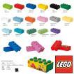 LEGO STORAGE BRICK8 Bright Red/Bright Blue/Bright Yellow/Black/Drak Green/White etc レゴ ストレージブリック8
