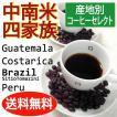 中南米産スペシャルティコーヒー豆4セット