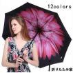 折りたたみ傘 晴雨兼用 男女兼用 レディース 100% 完全遮光 日傘 遮光 UVカット 紫外線 対策 折り畳み 雨傘 撥水 遮熱 軽量 12色 送料無料