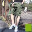 ショートパンツ ハーフパンツ メンズ ショーツ カーゴパンツ 短パン ワークパンツ チノパン スポーツ ボトムス ゆったり 夏物 新作 送料無料