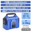 SNUGMAX ポータブル電源 Vikers300S  / 60000mAh/222Wh AC(300W 瞬間最大400W)/DC/USB出力 PD45W QC3.0