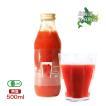 有機JAS 無塩 トマトジュース 北海道 当麻とジュースと私と大地 500ml 祝い 母の日 父の日 ギフト 贈り物 トマト ジュース 野菜ジュース ヘルシー