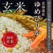 玄米|北海道産ゆめぴりか(30kg)