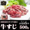 北海道産牛 牛肉 焼肉 国産牛 牛すじ500g [加熱用]  北海道 十勝スロウフード