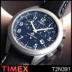 タイメックス TIMEX メンズ 腕時計 T2N3917 ブラック 革ベルト タイメックス