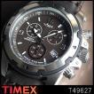 タイメックス TIMEX ミリタリー メンズ 腕時計 ブラウン 革ベルト タイメックス T49627