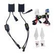 H8 55W 6000K HIDキット 12V仕様 2灯 薄型 交換用バルブ ヘッドライト フォークランプ等に TOKUTOYO(トクトヨ)