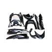 ヤマハ マジェスティ250/C型(SG03J) 外装カウル 9点セット 黒色 TOKUTOYO(トクトヨ)