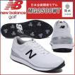 2018 ニューバランス MG2500 NB  NEW BALANCE MG2500 WT ホワイト ゴルフシューズ 日本企画開発モデル