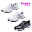 パーソンズ レディース スパイクレス ゴルフシューズ Persons PGS2016