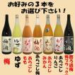 梅乃宿 果実酒 1.8L選べる3本セット