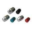 カラーホイールナット ショート ロックナットセット 袋 21HEX