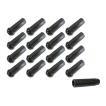 ホイールナット 超ロング 七角形ロックナット 50mm 黒 協永産業 16個セット