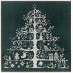 DMC クロスステッチ刺繍キット JPBK557G 「Christmas Tree」 (クリスマスツリー) 緑