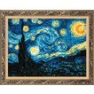 RIOLISクロスステッチ刺繍キット No.1088 「The Starry Night」 after Vincent van Gogh's Painting (星月夜 フィンセント・ファン・ゴッホ)