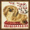 RIOLISクロスステッチ刺繍キット No.1243 「Pekinese」 (ペキニーズ 犬)