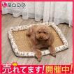 涼しい ベッドペット ひんやり 暑さ対策 冷感 ベッド猫用ベッド猫ベッド ボール付き おしゃれ マット 犬用ベッド 犬ベッド ペット用 ワンちゃん