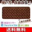 Room-mat(ルームマット)(ホットカーペット/敷きパッド) 約1畳 丸洗いOK シングルサイズ(172×75cm) YUASA(ユアサ) YGM-50RN-BR(ノルディックブラウン)
