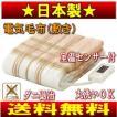電気毛布 電気敷き毛布(ブランケット)洗える SB-S102