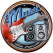 アメリカテイスト雑貨 ギター 音感センサー付きLEDライト アメリカンサイン おしゃれな間接照明 メーカー直販