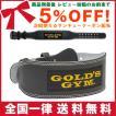 GOLDS GYM ゴールドジム ブラックレザーベルト G3367 ...
