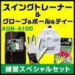 【色が選べる!4点セット】ゴルフナビAGN-A100&グローブ&ゴルフボール&ゴルフティー ゴルフ用品お買い得セット