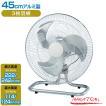 業務用 扇風機 工場扇 床置型 アルミ羽 45cm ナカトミ OPF-45AF
