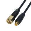 MCX⇔SMA変換ケーブル1m MCX(メス)⇔SMA(オス)全長:約10cm ワンセグ 車載機器 通信 計測用 カーアンテナ 無線機器 MCXSMA-01