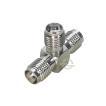 SMA2分配アダプタ SMA端子(メス)⇔SMA端子(メス)x2 カーナビ、ポータブルテレビ等のアンテナ2分配 アンテナ2系統 SMA-T