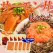 《送料無料》サーモン丼10食セット 漬け丼(80g×5食)+すき身丼(70g×5食) ※冷凍【同梱不可】】○
