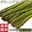 《送料無料》『グリーンアスパラガス』 Mサイズ以下 約600g 福島・会津産 ○