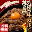 ≪送料無料≫『牛カルビ丼の具』1食100g×10食セット...