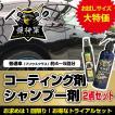 艶将軍 /お試しサイズ50ml とボタニカルシャンプー200ml トライアルセット / コーティング剤カーシャンプー/