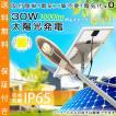 ソーラーLED外灯 30W 3000lm ソーラーパネル 電気代ゼロ 昼光色 IP65