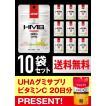 UHA味覚糖 DNSグミ HMB ジンジャーレモン味 1日分×10袋セット(もれなくUHAグミサプリプレゼント!)