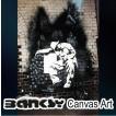 Banksy バンクシー Drunk Man Portrait アート